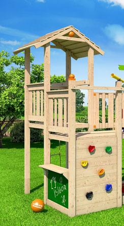 spiel und kletterturm kinder spielen drau en. Black Bedroom Furniture Sets. Home Design Ideas